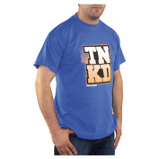 TANKED Orange Dot T-Shirt, blau Bild 2