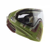 DYE I4 PRO Invision Paintball Maske, Barracks Olive 001