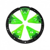 Virtue Crown SF Rotor Spring Finger, lime Bild 1